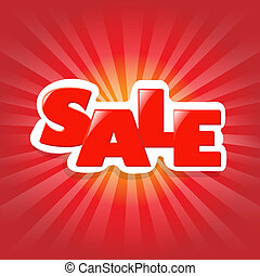 Red Poster Sale
