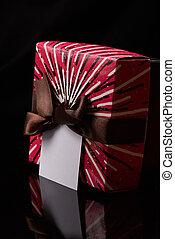 Red present box