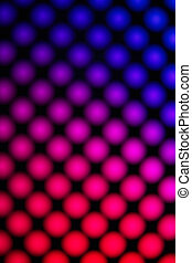 Red purple technology background with seamless led