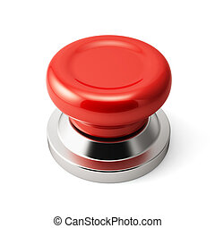 Red push button