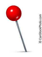 Red Pushpin