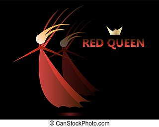 The Red Queen - Cartoon Clipart - Full Size Clipart (#1082969) - PinClipart