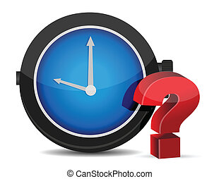 red Question Mark with Alarm
