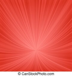 Red ray pattern background