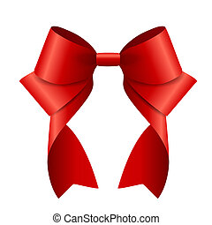 Red Ribbon and Bow.