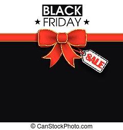 Red Ribbon Black Friday Shopmark