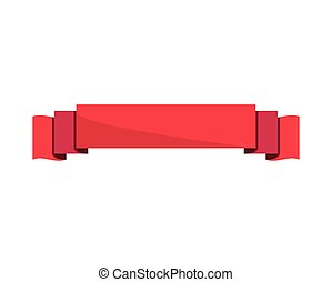red ribbon emblem