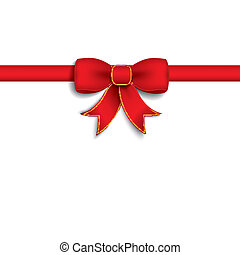 Red Ribbon White Cover
