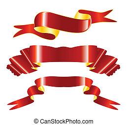 ribbons  - red ribbons