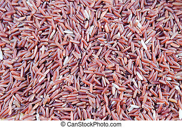 red rice background