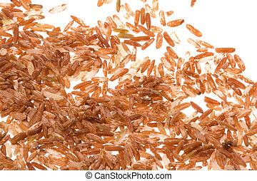 Red Rice Isolated - Isolated image of red rice.