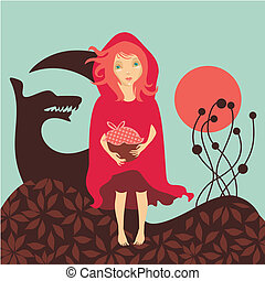 Red Riding Hood and the Woolf