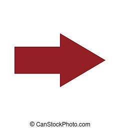 Red right arrow icon