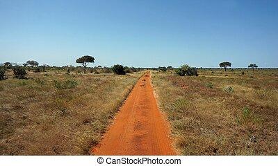 red roads of kenya