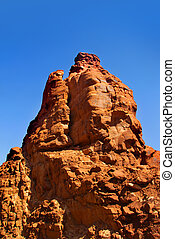 Red rock in Glen canyon