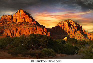 Red rock mountains of Sedona