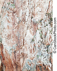 red rock texture closeup background