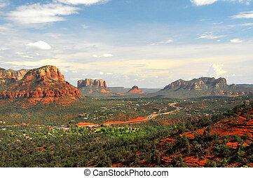 Red Rocks Blue Skies