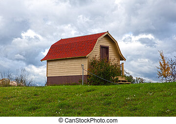 Red Roof Barn