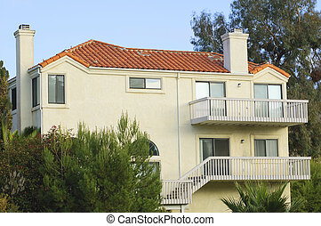 Red roof house (Southern California)