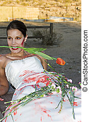 Red Rose Bride