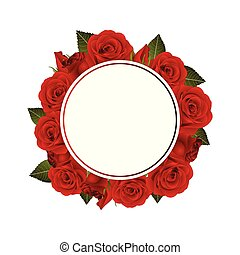 71960db4816 More stock illustrations from this artistSee All. Red Rose Flower Banner  Wreath