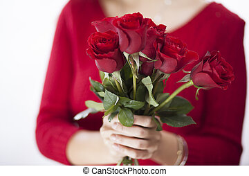 Red roses for you!