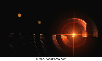 Red Rotational Motion