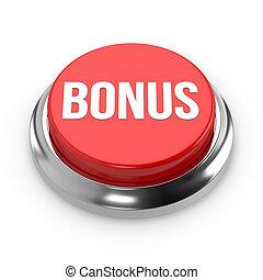 Red round bonus button