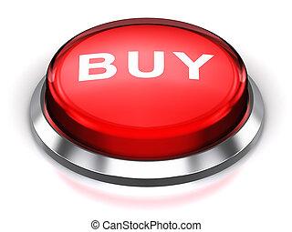 Red round Buy button