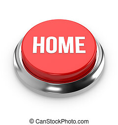 Red round home button
