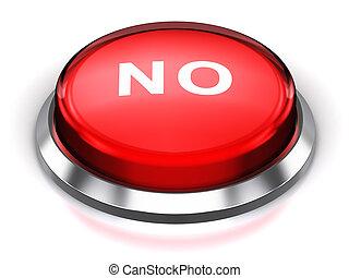 Red round No button