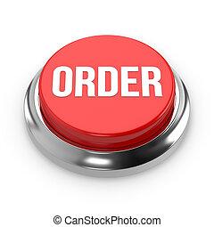 Red round order button