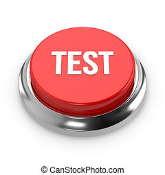 Red round test button