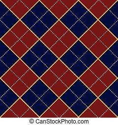 Red Royal Blue Diamond Background