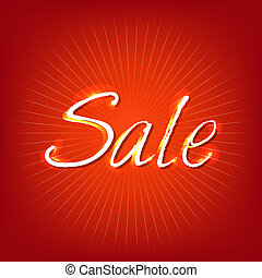 Red Sale Poster