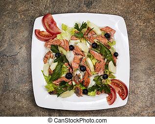Red Salmon Salad
