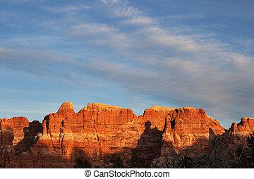 Red Sandstone Landscape