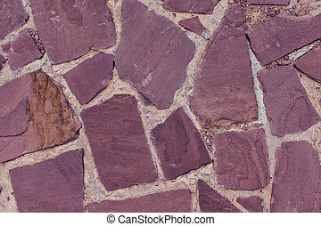 Red sandstone texture background - Details of red sandstone...