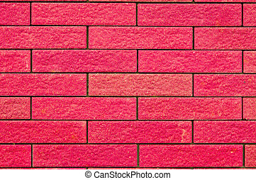 Red sandstone. - Texture of red sandstone in thailand