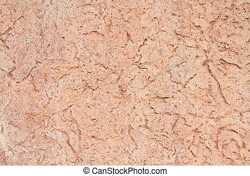Red sandstone wall background. Stone texture abstract.