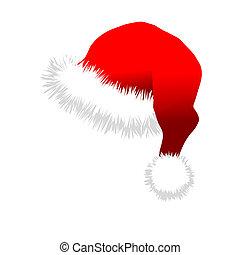 Red Santa Claus Hat
