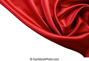 red satin or silk background