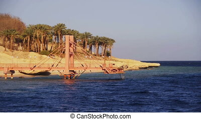 Red Sea coast with beaches, Boat Trip Sinai Peninsula, Egypt...