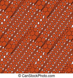 Red seamless background pattern