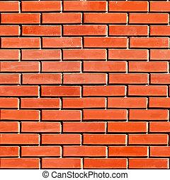 Red Seamless Brickwall