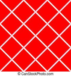 red seamless ceramic tiles