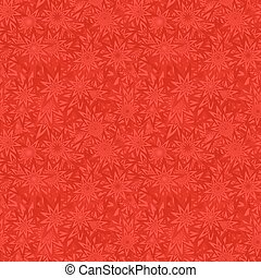 Red seamless floral pattern background