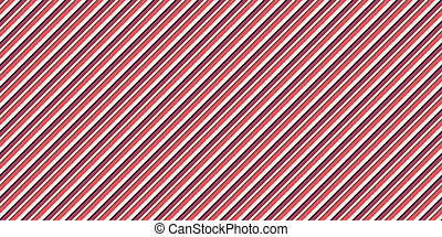 Red Seamless Inclined Stripes Background. Modern Colors Sidelong Lines Texture. Vintage Style Stripe Backdrop.