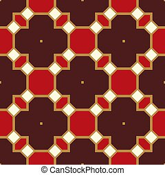 Red seamless pattern texture background